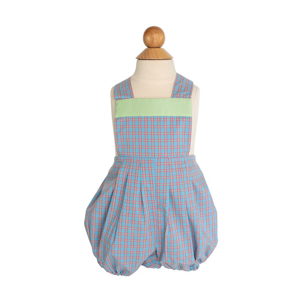 Harry Bubble Sample Size 1 Ocean Mist Plaid