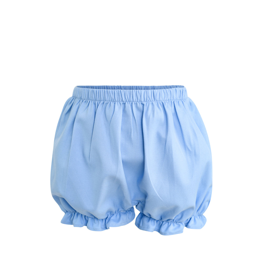 Rosie Bloomer Shorts Sample Size 2 Cornflower Twill