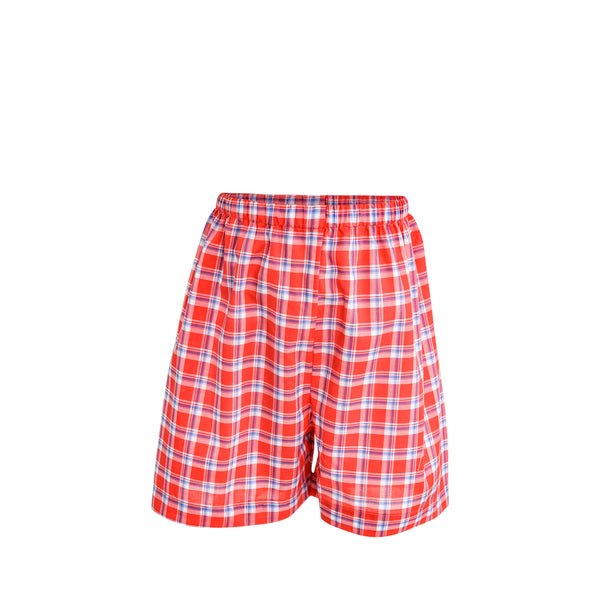Ethan Short Sample Size 5 Watermelon/Blue Plaid