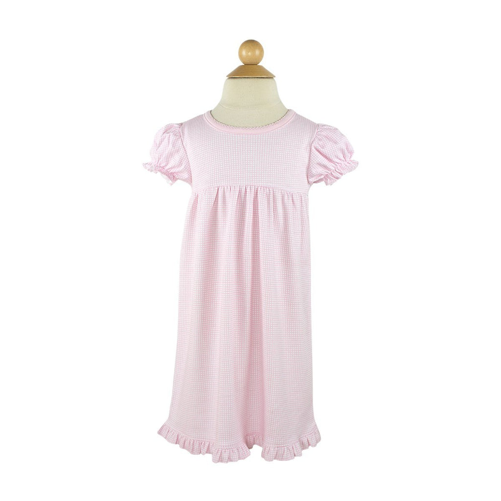 Nightgown- Pink Square