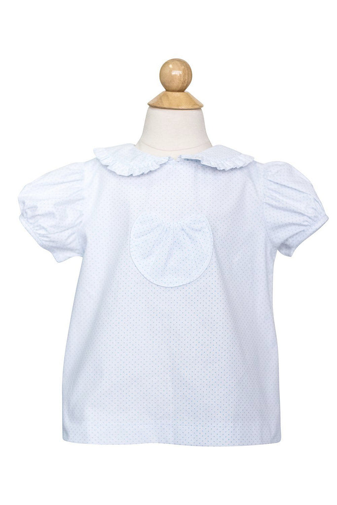 Alice Shortsleeve Blouse- Sample Size 4