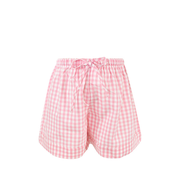 Collette Shorts - Pink Gingham