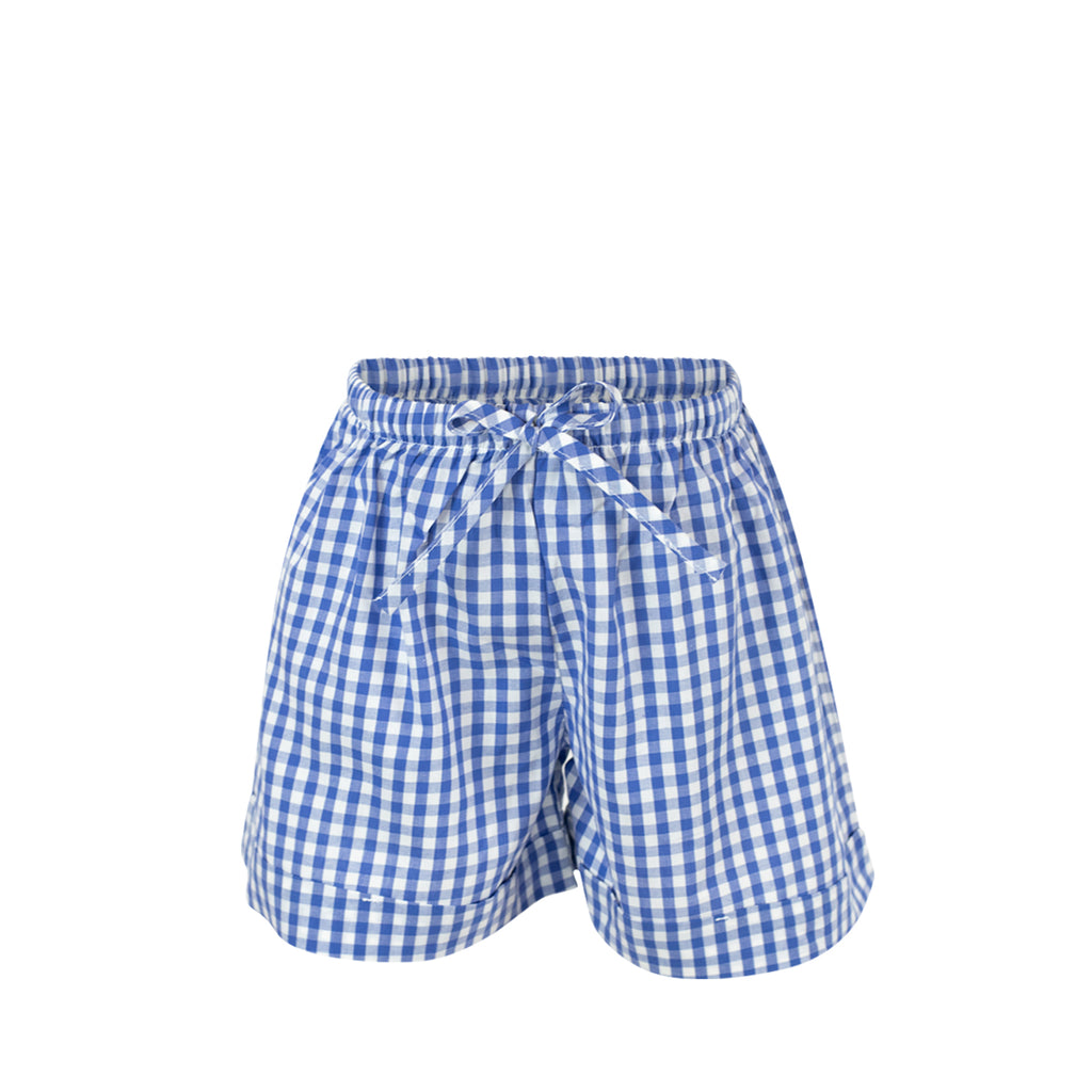 *Collette Shorts - Royal Gingham