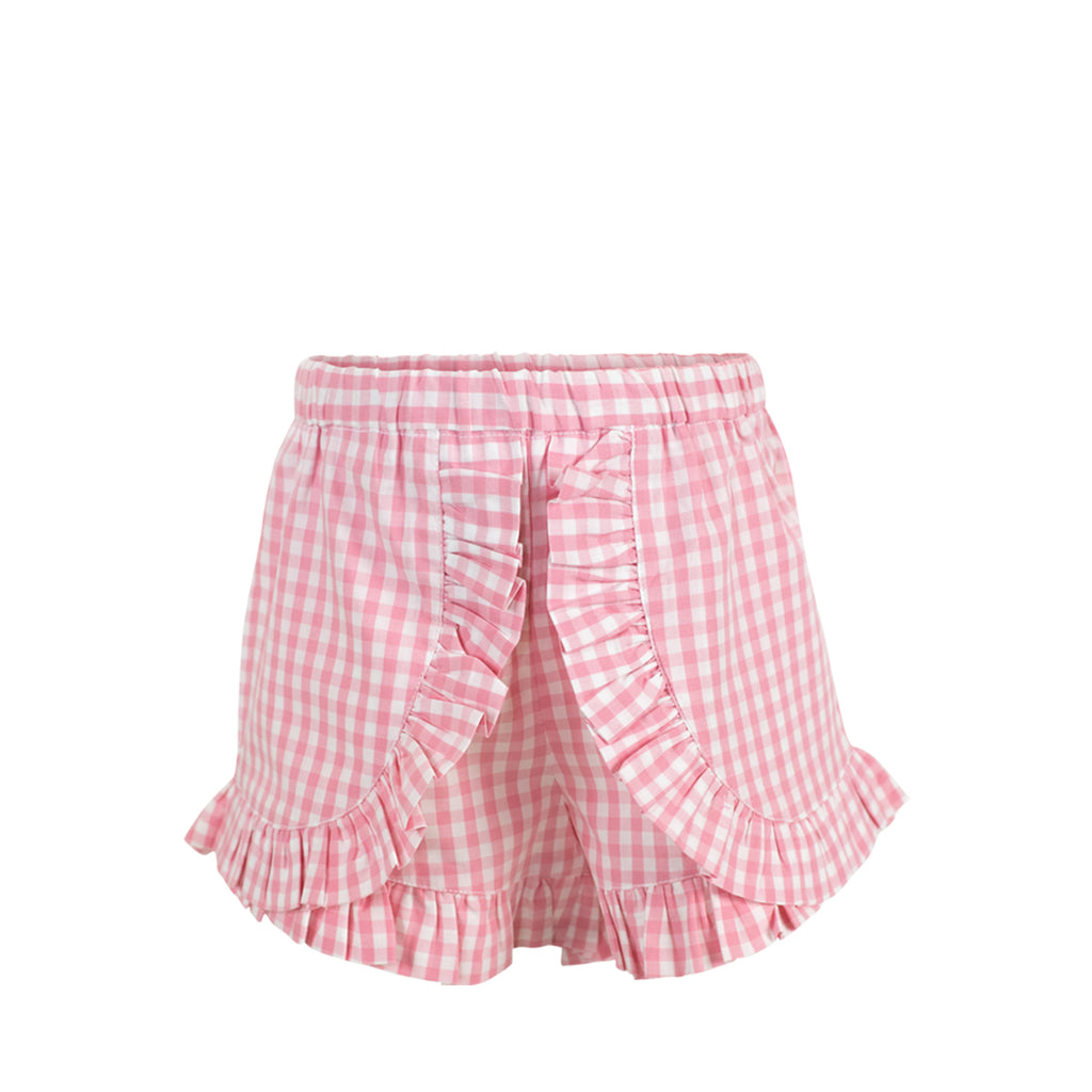 Gabby Shorts - Pink Gingham