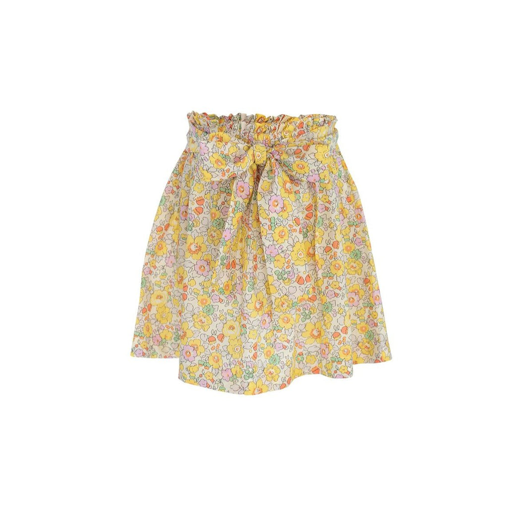 Ruby Skirt Sample Size 5 Yellow Floral Liberty