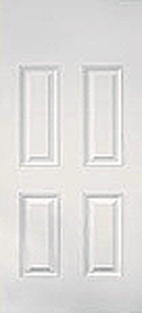 Smooth Fiberglass Door : SM-4PBT