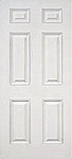Smooth Fiberglass Door : SM-8-6P
