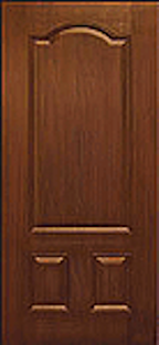 Oak Fiberglass Door : WG-3PA