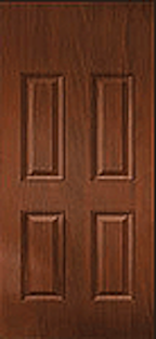 Oak Fiberglass Door : WG-4PBT