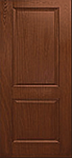 Oak Fiberglass Door : WG-8-2H
