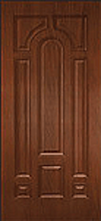Oak Fiberglass Door : WG-8P