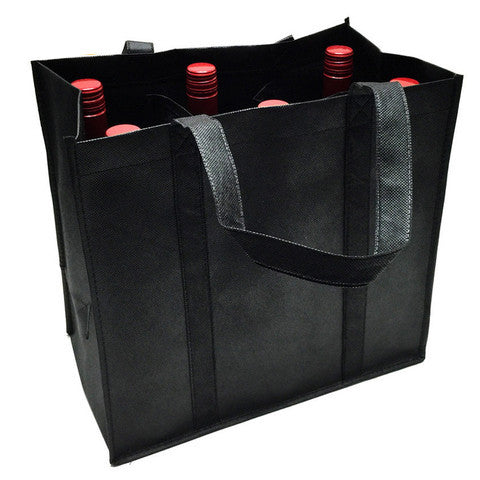 6 Pack Wine Bag