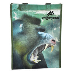 Calgary Zoo Laminated Bag