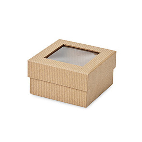 Ribbed Window Chocolate Box