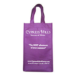 Cypress Hills Custom Printed Wine Bag