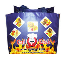 Chef Kebob Laminated Bag