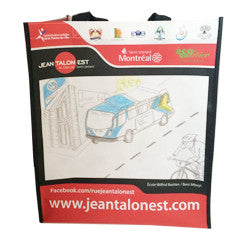 Jean Talon Laminated Bag