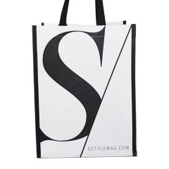Style Magazine Laminated Bag