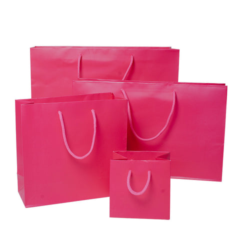 High Gloss Rope Handle Bags - Any Color