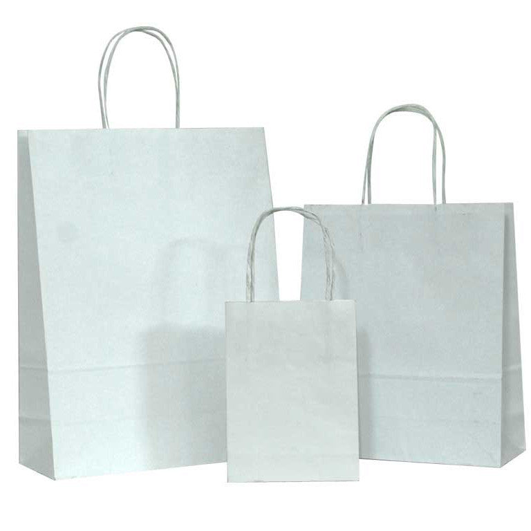 Twisted Handle Paper Shopper