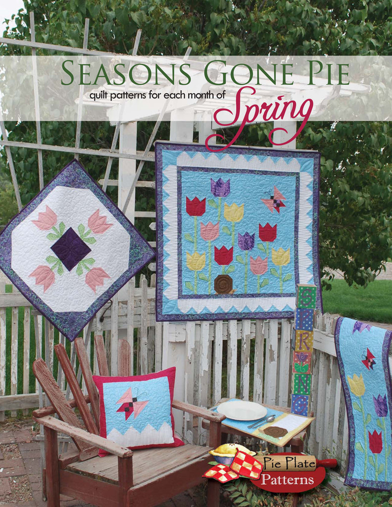 Seasons Gone Pie - Spring & Seasons Gone Pie - Spring u2013 Pie Plate Patterns