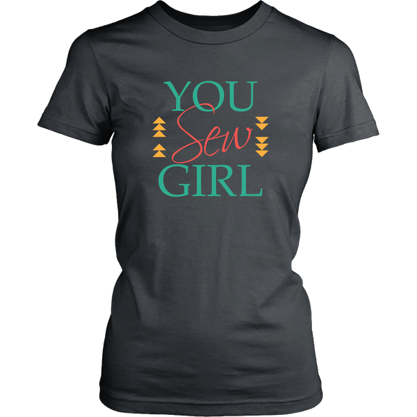 You Sew Girl - District Women's Tee