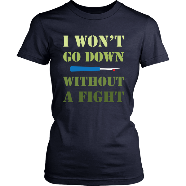 Without A Fight - District Women's Tee