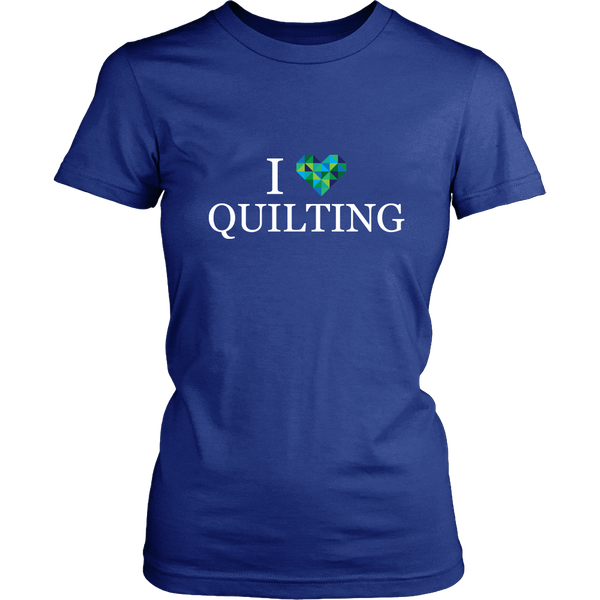 I <3 Quilting - District Women's Tee