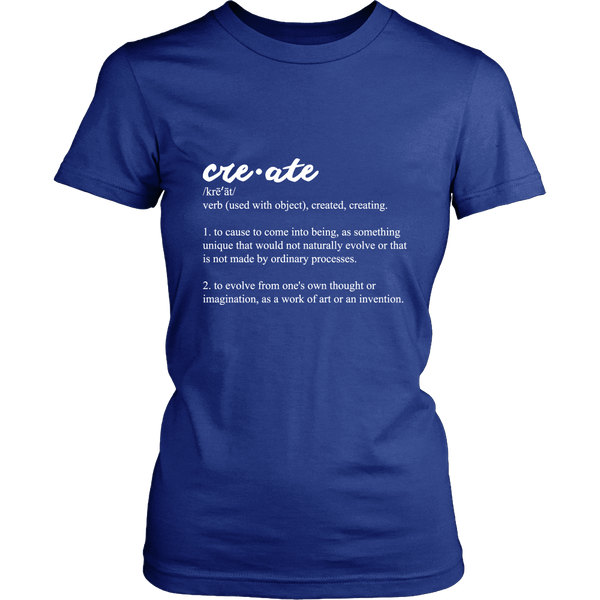 Create - District Womens Tee