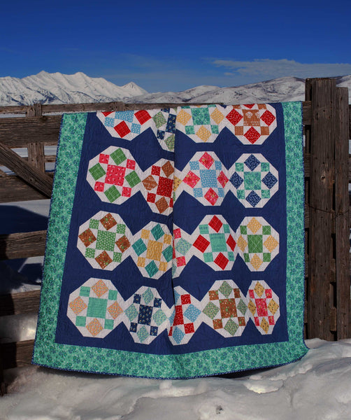 Sweet & Salty Quilt Pattern - Digital Download