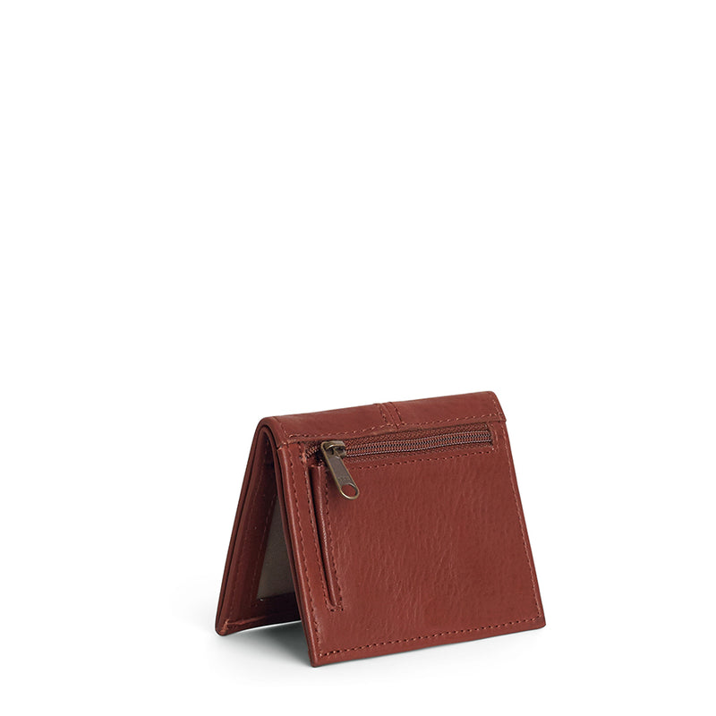 Hugo slimline leather wallet - Tan