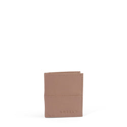 Hugo slimline leather wallet - Sand