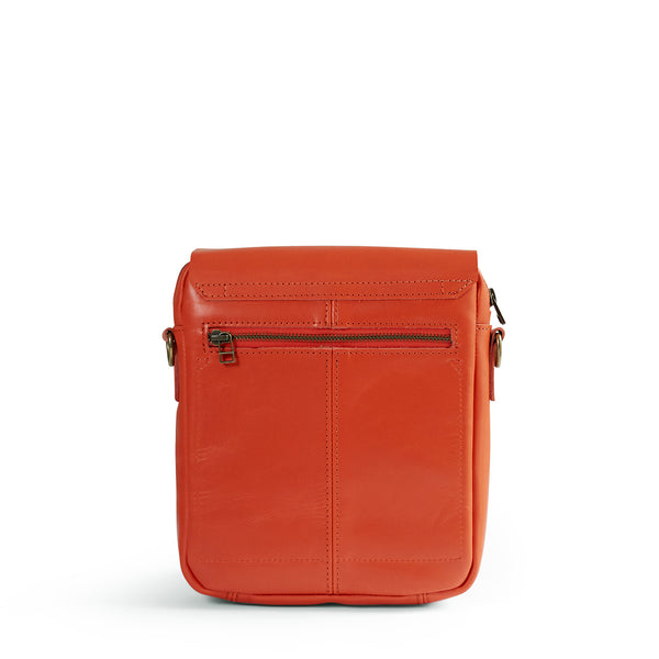 Liam Leather Postman Crossbody - Koi