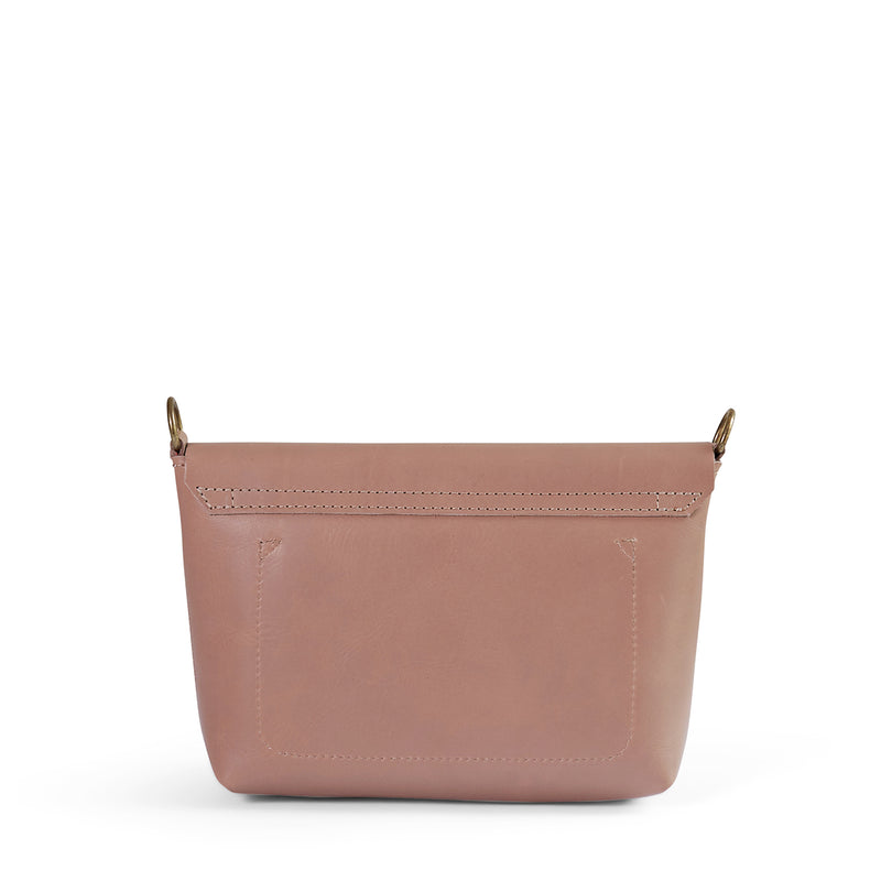 Jeanie leather crossbody - Sand