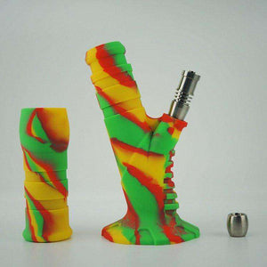 Portable SILICONE Water Pipe [product_tag] OG WAREHOUSE - OG WAREHOUSE