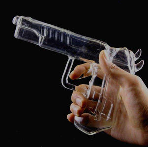 Smoking Pipes Glass Novelty Pistol Pipe