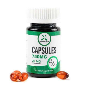 CBD Gel Capsules 30 pack 750Mg