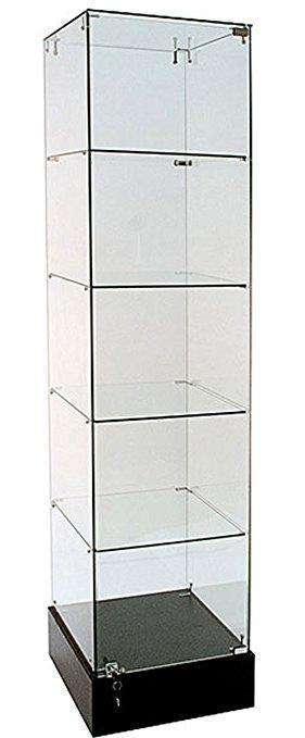 5 Tier Glass Display Case