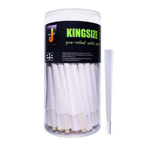 Jware Pre-rolled King Size Cones Rolling Paper (50 Pack)