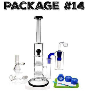 "Package #14 - 12"" Sprinkle Glass + Accessories"