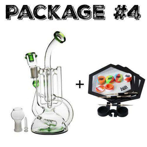 Package #4 - Quad Mini Glass + Dab Kit