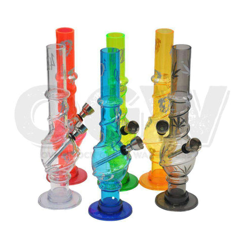 Acrylic Pipe Assorted [product_tag] OG WAREHOUSE - OG WAREHOUSE