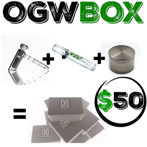 OGW BOX ($50 BOX)  OG WAREHOUSE - OG WAREHOUSE