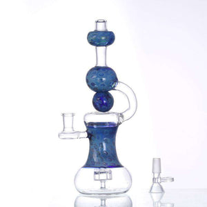 "10.5"" Aqua Dreams Glass Pipe"