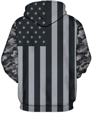 Grayscale Flag Hoodie [product_tag] OG WAREHOUSE - OG WAREHOUSE