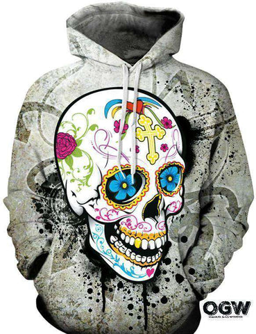 Candy Skull Hoodie [product_tag] OG WAREHOUSE - OG WAREHOUSE