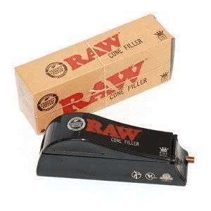 Raw Natural Rolling Paper Cone Filler /  Shooter - King Size