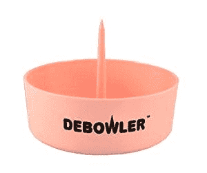 Debowler Ashtray with Poker