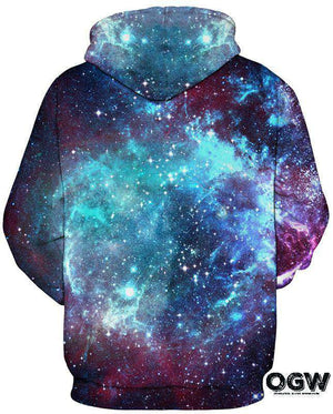 "Galaxy Collection Series Hoodie ""Blue Dreamz"""