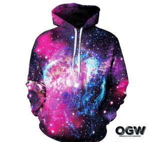 "Galaxy Collection Series Hoodie ""Nebulas"""